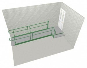 Access Ramp Layout