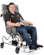 Electric Tilt in Space Shower Chair/Cradle