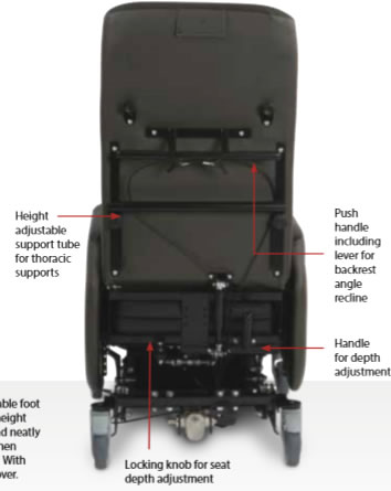 Riser Care Chair back