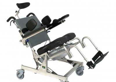 RAZ Attendant Tilt Rehab Shower Commode Chair