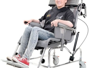 Manual Tilt in Space Shower Chair/Cradle