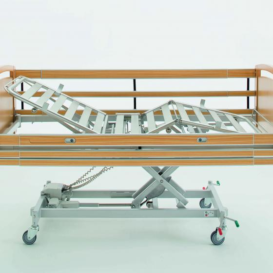 Elevated Collapsible Bed