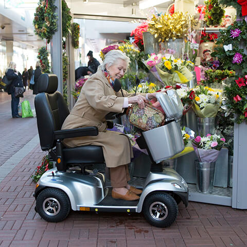 folding electric wheelchair UK
