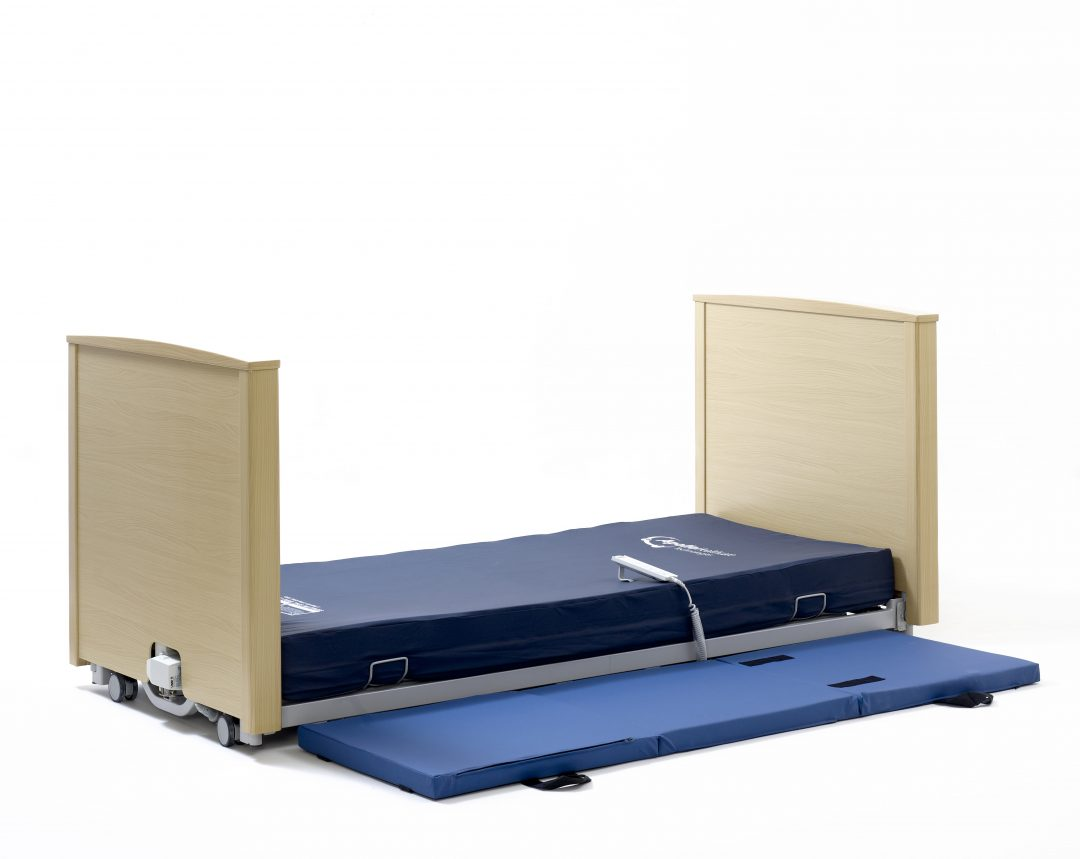 Universal floor level bed