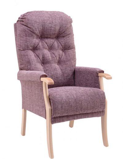The Avon Chair Purplish