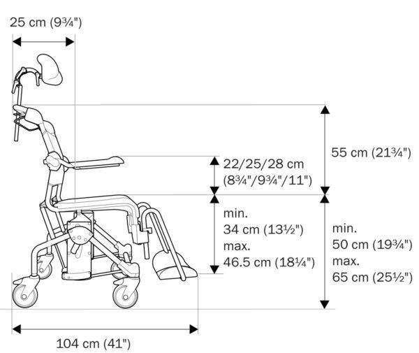 Komplett stol Tilt | Osteopoise